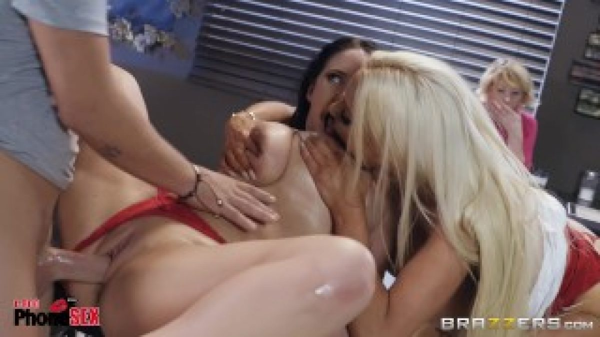 Talk Nicolette Shea Dirty Threesome With